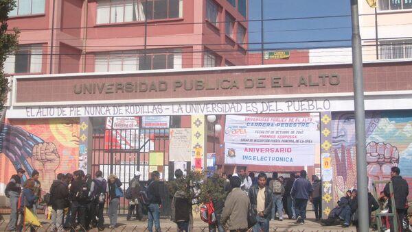 Universidad Pública de El Alto (UPEA) - Sputnik Mundo