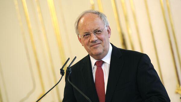 Johann Schneider-Ammann, presidente del Consejo Federal de Suiza - Sputnik Mundo