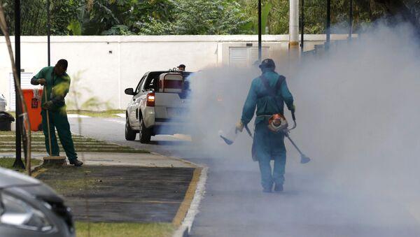La lucha contra el virus Zika en Río de Janeiro - Sputnik Mundo