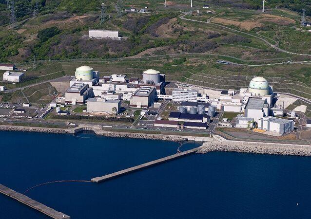 Planta nuclear Tomari en Hokkaido, Japón