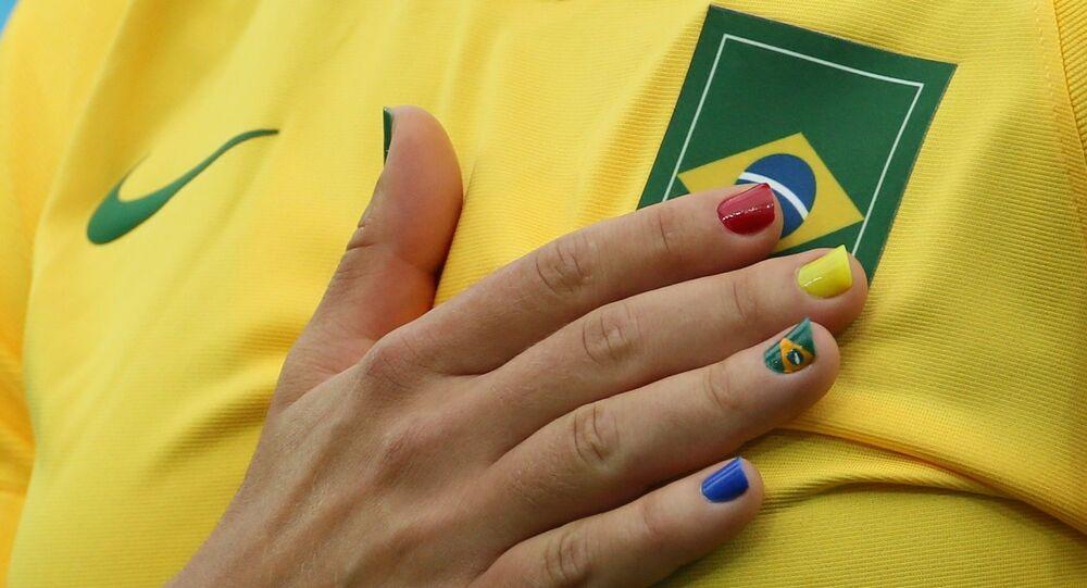 Atleta brasileña