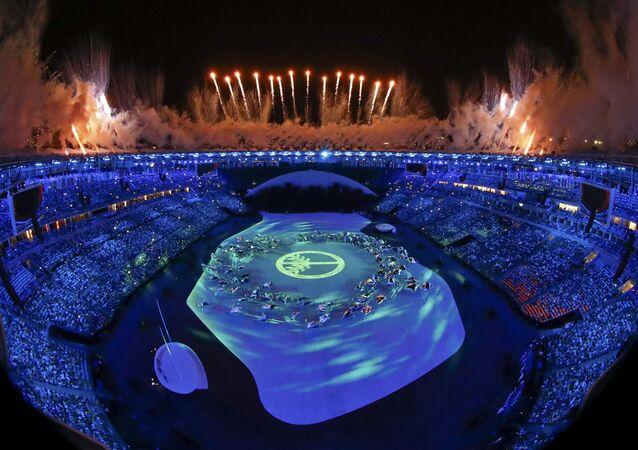 Ceremonia de apertura de los JJOO de Río