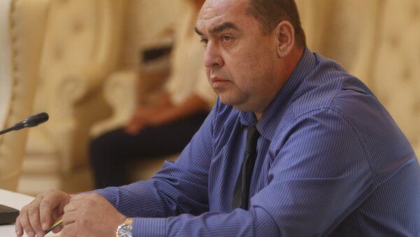 Líder de la autoproclamada República Popular de Lugansk (RPL), Ígor Plotnitski (archivo) - Sputnik Mundo
