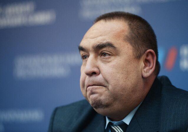 Ígor Plotnitski, el líder de la autoproclamada República Popular de Lugansk (RPL) (archivo)