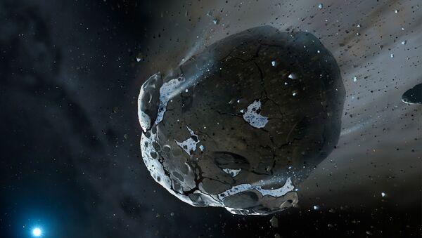 Un cometa en el espacio - Sputnik Mundo