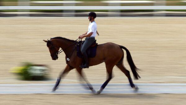 Equitación en Río - Sputnik Mundo