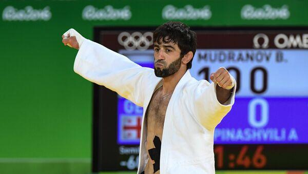 Beslán Mudránov,  judoka ruso - Sputnik Mundo