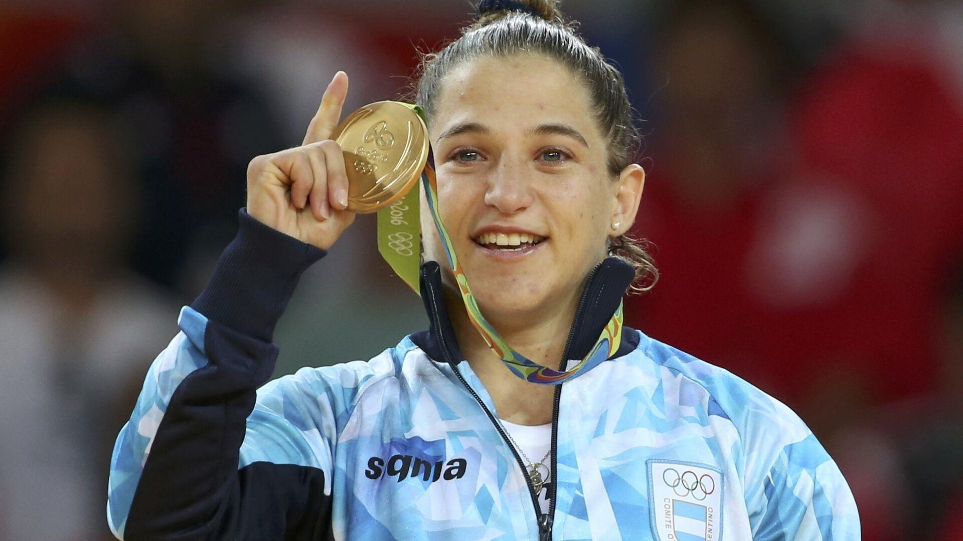 Paula Pareto, judoca argentina - Sputnik Mundo, 1920, 22.07.2021