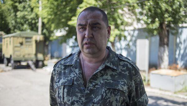 Ígor Plotnitski,  jefe de la autoproclamada República Popular de Lugansk (RPL) - Sputnik Mundo