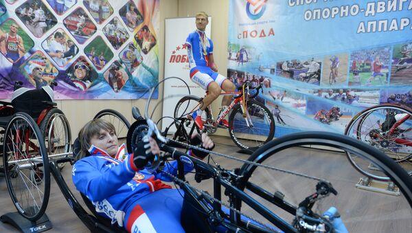 Los atletas paralímpicos rusos - Sputnik Mundo