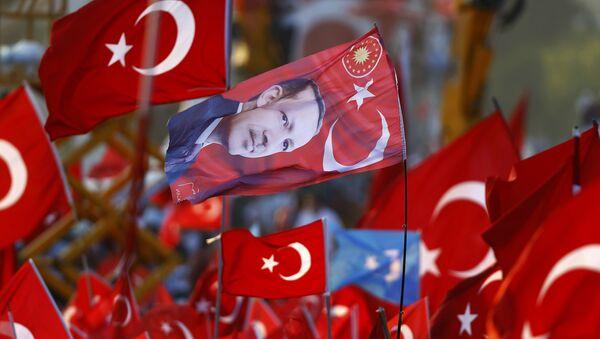 Mitin progubernamental reúne a 5 millones de personas en Estambul - Sputnik Mundo
