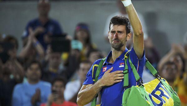 Novak Djokovic, tenista de Serbia - Sputnik Mundo
