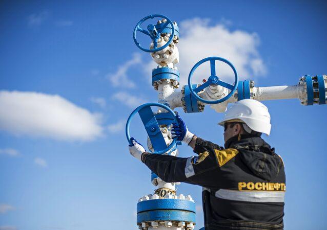 La producción de petróleo ruso
