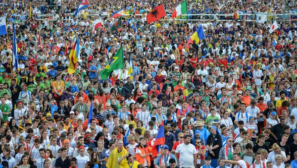 Las celebraciones de Jornadas de la Juventud en Polonia - Sputnik Mundo