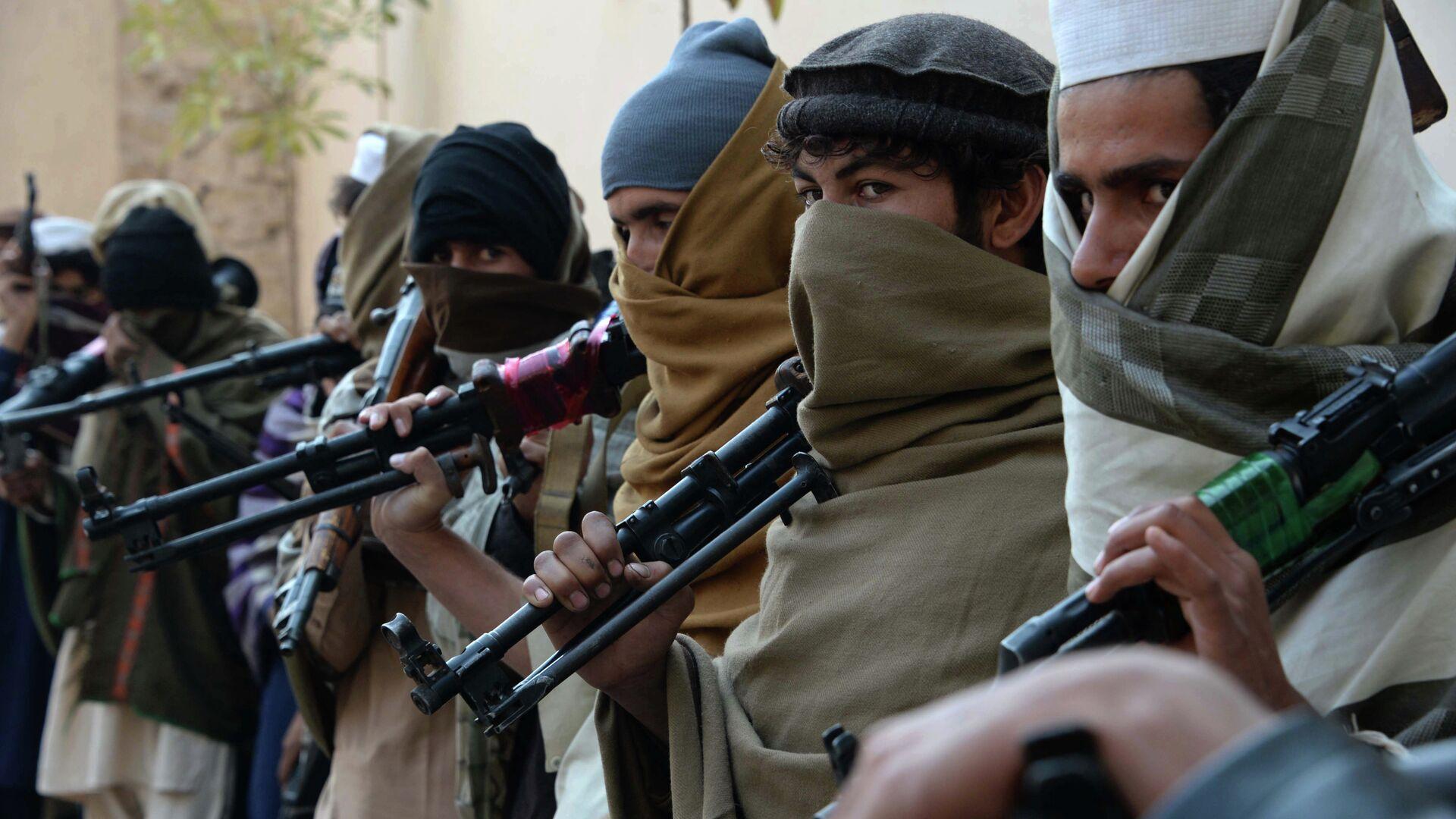 Combatientes de Talibán en Afganistán - Sputnik Mundo, 1920, 18.07.2021