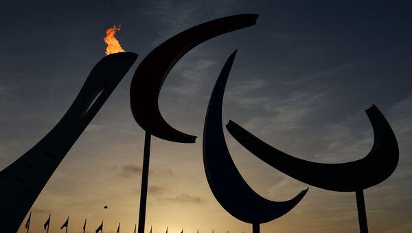El símbolo y el fuego de los Juegos Paralímpicos en Sochi - Sputnik Mundo