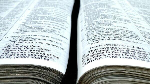 Una biblia (Archivo) - Sputnik Mundo