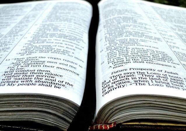 Una biblia (Archivo)