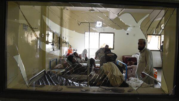 Víctimas del atentado en Quetta - Sputnik Mundo