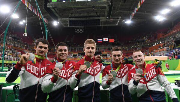 Selección masculina rusa de gimnasia - Sputnik Mundo