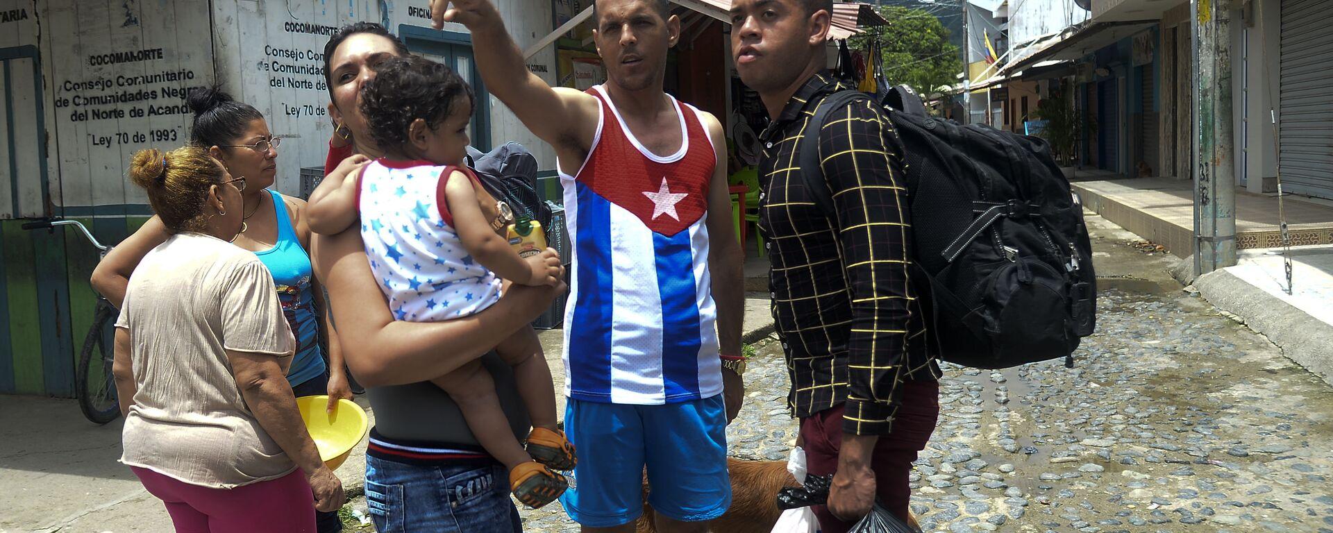 Migrantes cubanos en Colombia - Sputnik Mundo, 1920, 06.08.2021