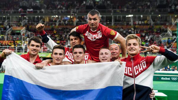Las victorias de la selección rusa durante los tres primeros días de los JJOO 2016 - Sputnik Mundo