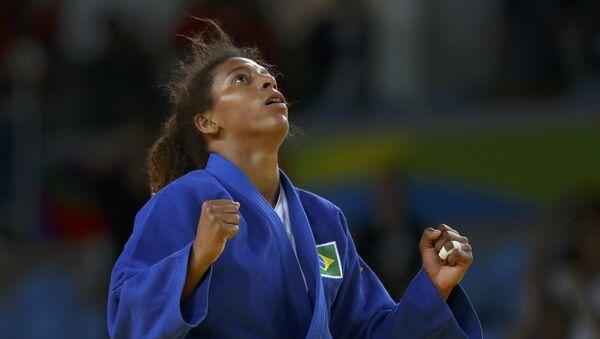 Rafaela Silva, judoca brasileña - Sputnik Mundo
