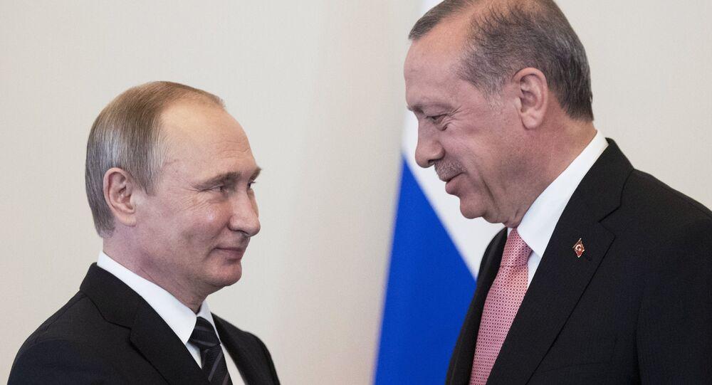 La reúnion entre los presidentes Putin y Erdogan en San Petersburgo