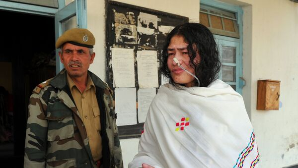 Chanu Sharmila en 2012 - Sputnik Mundo