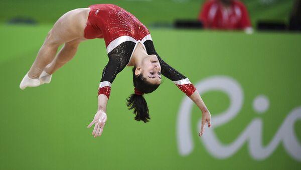 La gimnasta española Ana Pérez - Sputnik Mundo