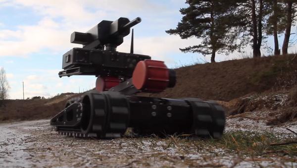 RS1A3 Minirex, robot táctico para combate urbano - Sputnik Mundo
