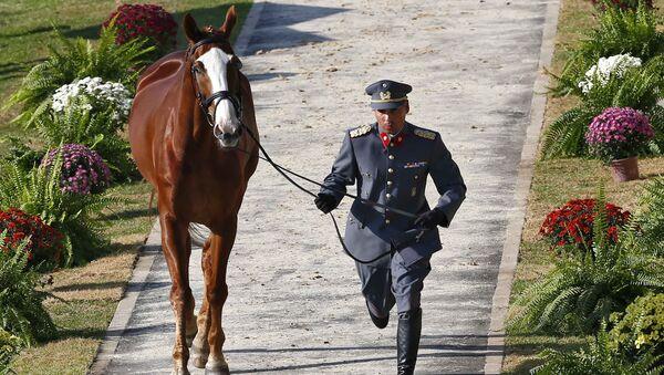Carlos Lobos, equitador chileno - Sputnik Mundo