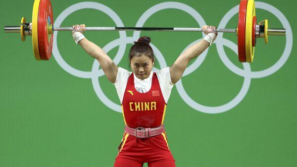 Deng Wei, deportista china - Sputnik Mundo