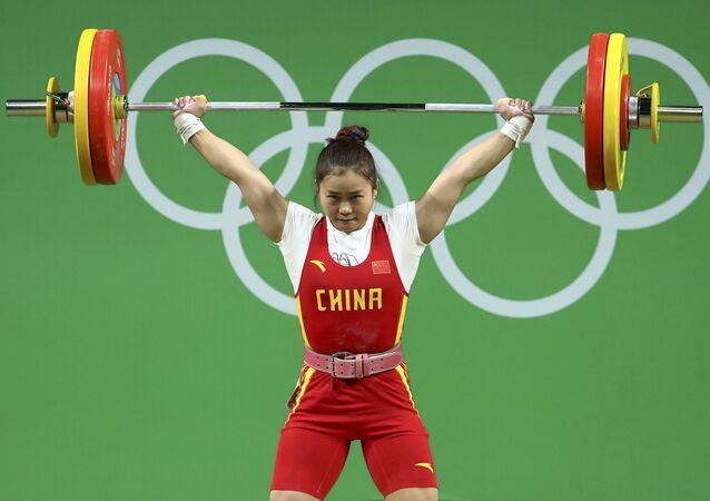 Deng Wei, deportista china