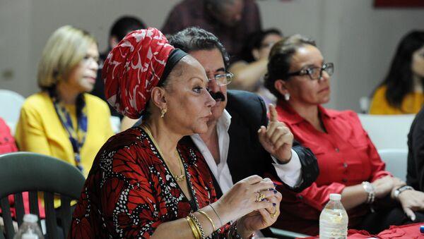 Piedad Córdoba, exsenadora de izquierda colombiana - Sputnik Mundo