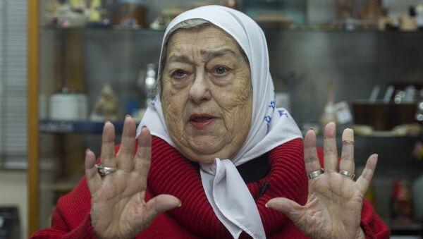 Hebe de Bonafini, presidenta de Madres de Plaza de Mayo - Sputnik Mundo