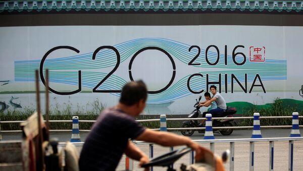 Preparatorios para la cumbre de G20 en China - Sputnik Mundo