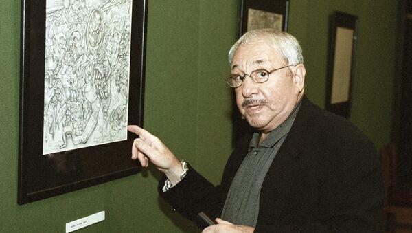Ernst Neizvestny, escultor ruso (archivo) - Sputnik Mundo