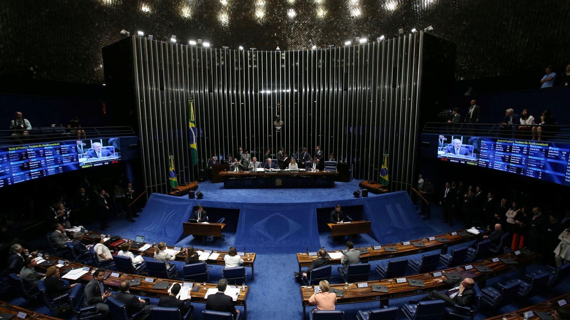 Senado de Brasil - Sputnik Mundo, 1920, 26.05.2021