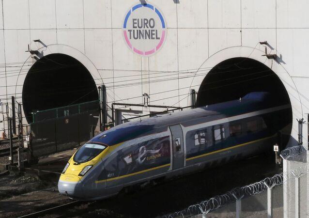Trenes de alta velocidad Eurostar
