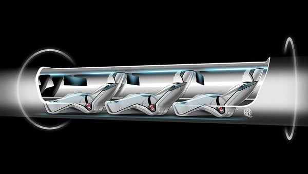 La cápsula Hyperloop - Sputnik Mundo