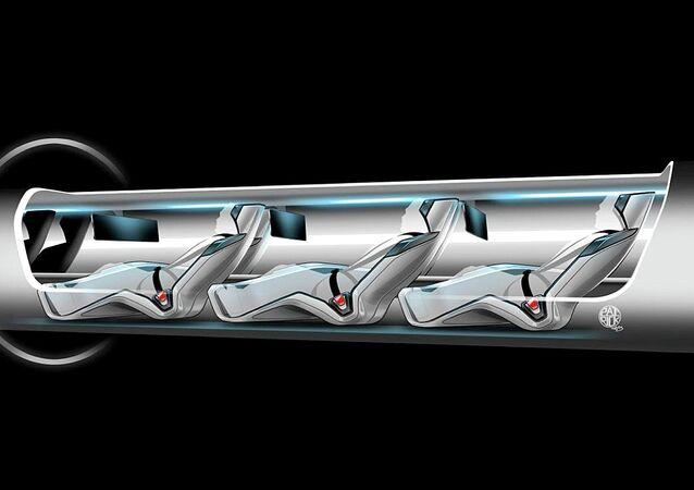 La cápsula Hyperloop