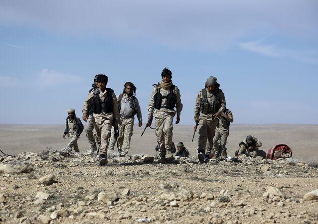 Los combatientes de las Fuerzas Democráticas de Siria