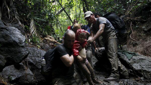 Migrantes cubanos en la frontera colombiana - Sputnik Mundo