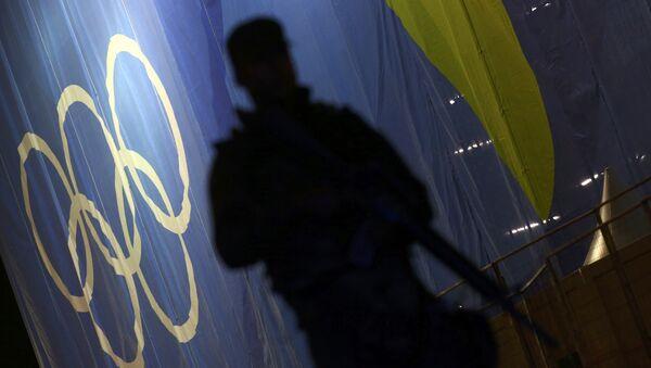 Soldado brasileno en Río de Janeiro - Sputnik Mundo