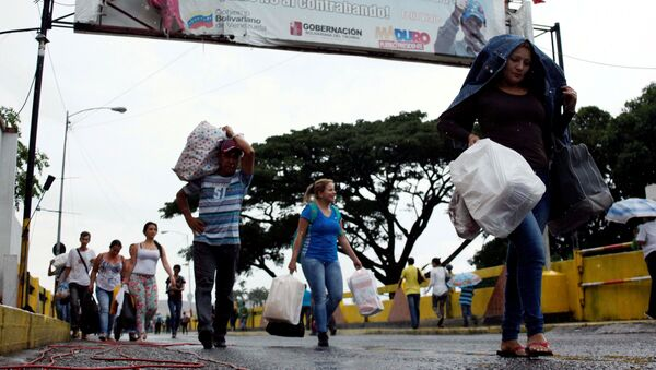 Frontera entre Colombia y Venezuela (archivo) - Sputnik Mundo