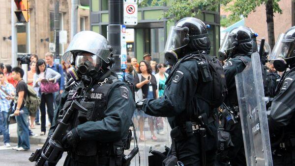 Policía de Canadá - Sputnik Mundo
