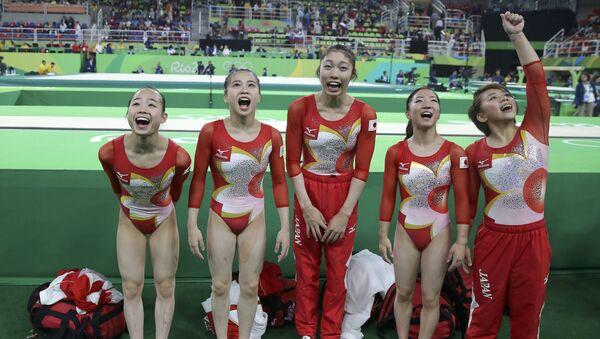 Gimnastas japonesas - Sputnik Mundo