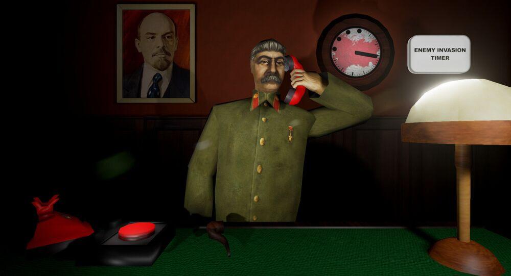 El juego Сálmate, Stalin (captura de pantalla)