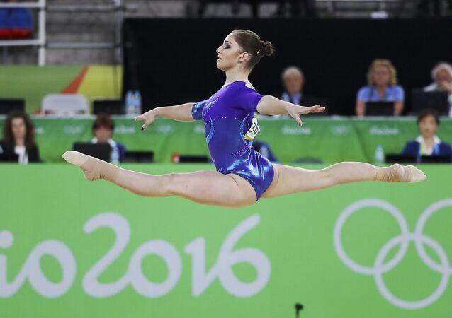 Aliyá Mustáfina, gimnasta rusa